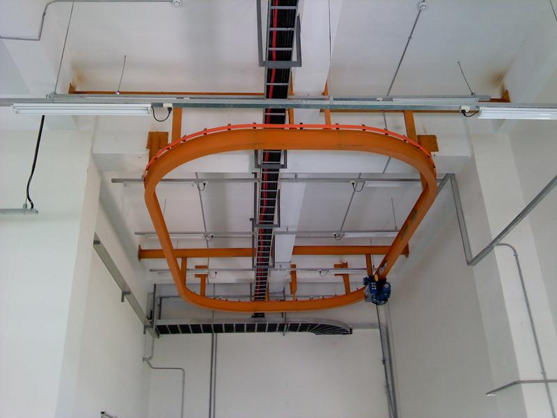 cầu trục monorail